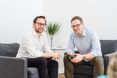 Christoph Hütter & Stefan Grossek von Invitario
