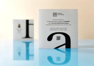 Beispiel Printeinladung von Invitario für den Houskapreis