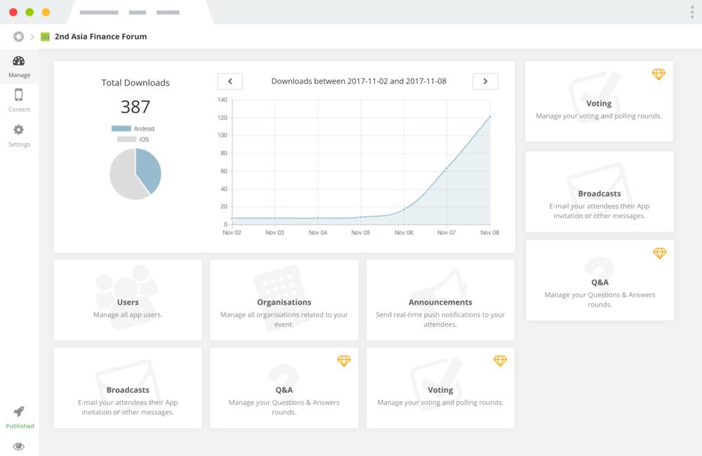 Die eigene App für Ihre Veranstaltung - Einfach selbstgemacht