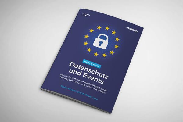 Guide Datenschutz und Events Cover