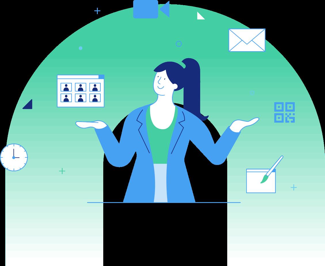 Ein Tool für alle Einladungsprozesse: Dank dem professionellen Teilnehmermanagement von Invitario reduzieren Sie den administrativen Aufwand bei Ihren Veranstaltungen