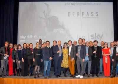 """Premieren-Event von Sky: """"Der Pass"""""""